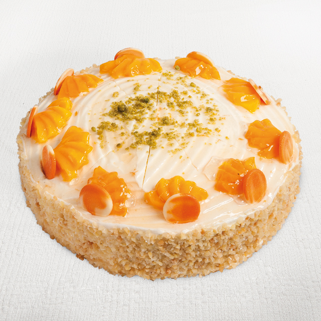 Philadelphia-Pfirsich Torte