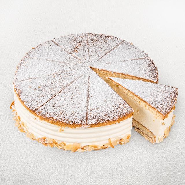 Käse-Sahne Torte