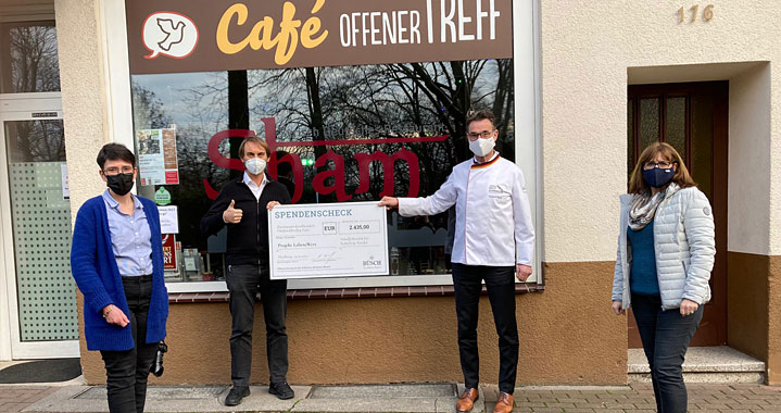 Projekt LebensWert, gesundes Frühstück für Schulkinder, Duisburg
