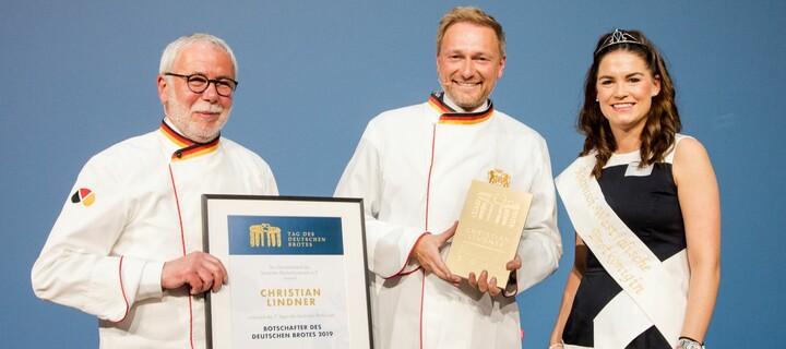 Christian Lindner wird Brotbotschafter