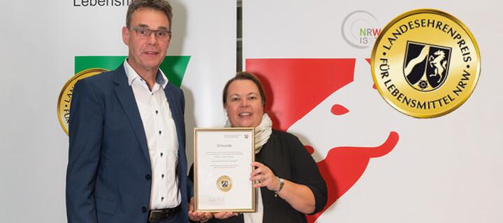 Landesehrenpreis für Handwerksbäckerei Büsch