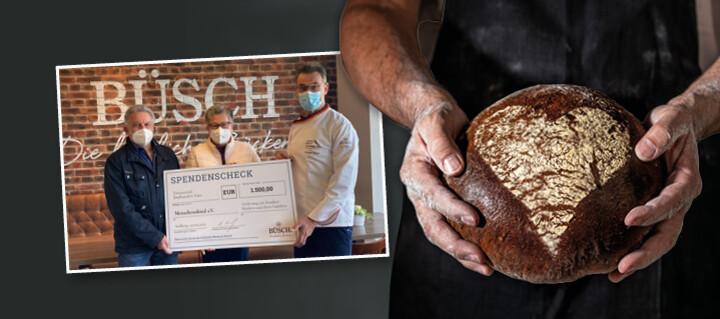 Spendenübergabe Bäckerei Büsch
