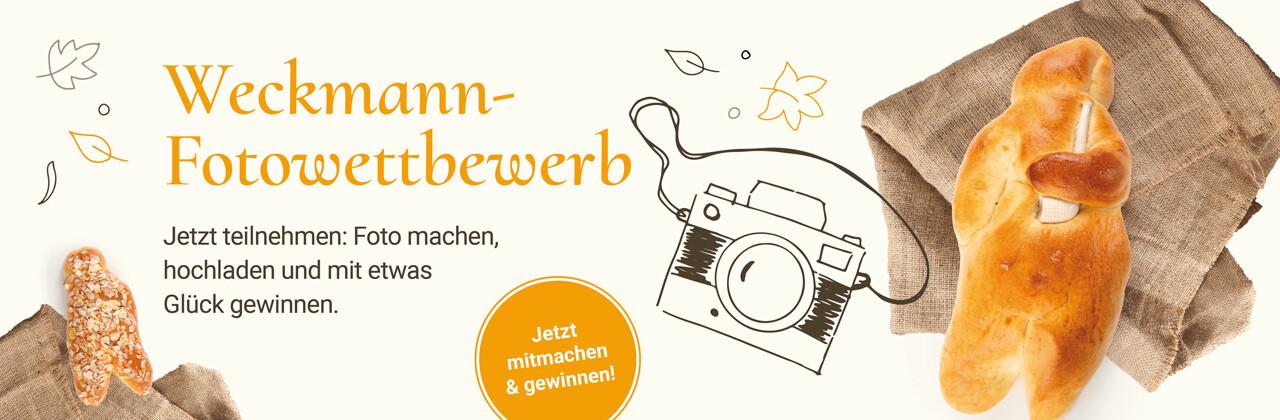 Fotoaktion Weckmann backen und gewinnen
