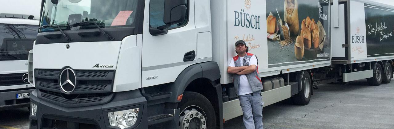 Stephan Kempkens - LKW-Fahrer